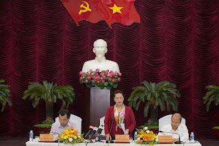 Chủ tịch Quốc hội làm việc tại Bình Thuận.