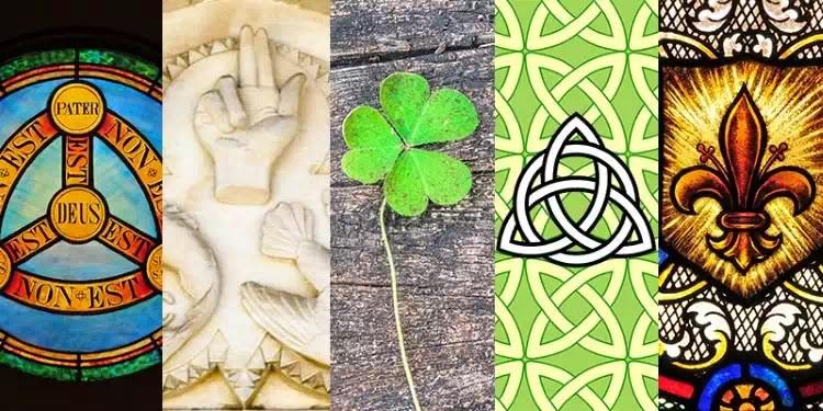 5 biểu tượng cổ xưa chỉ mầu nhiệm Tam Vị Nhất Thể (Một Chúa Ba Ngôi)