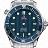 Omega Seamaster Clock 4×3 logo