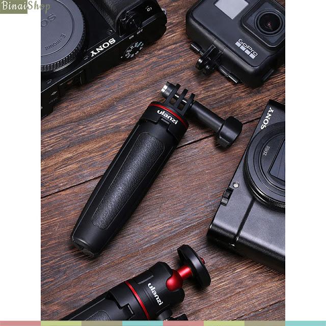 Ulanzi MT-09 - Tripod Tích Hợp Gậy Selfie Cho GoPro