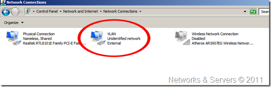 Host Network Connections