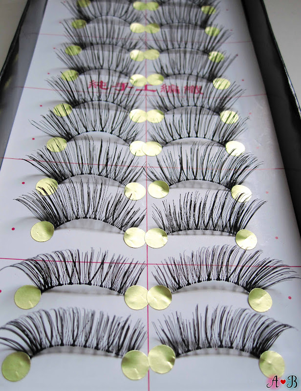 ES Handmade Eyelashes - Half Mini Lashes (ES A829)