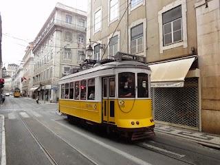 Tram no 28 à Lisbonne
