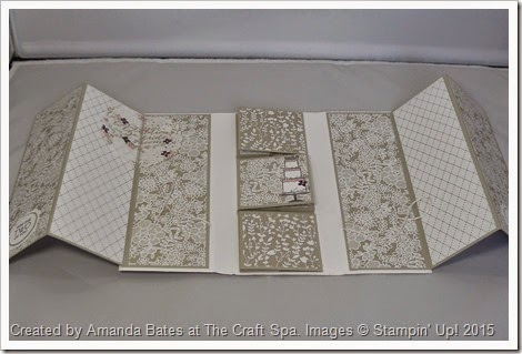 Artisan Embellishments & Something Borrowed TriFold Mini Book by Amanda Bates at The Craft Spa  (11)