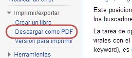 archivos de wikipedia en PDF