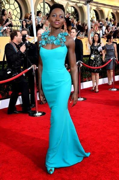 Lupita Nyong'o attends the 20th Annual Screen Actors Guild Awards