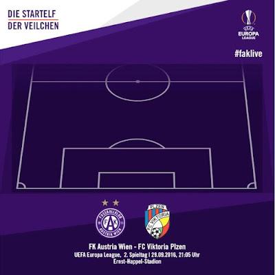 UEFA Europa League Flutlicht im ErnstHappelStadion Hier ist unsere Startelf gegen den