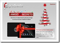Gradiente Amigo secreto tablet natal