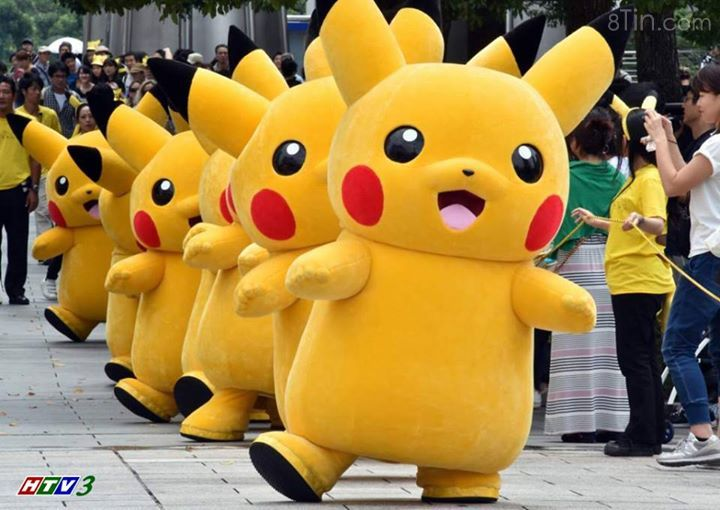 Pikachu là một loài gặm nhấm với thân hình lùn và nhỏ.