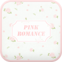 Pink Romance go launcher icon