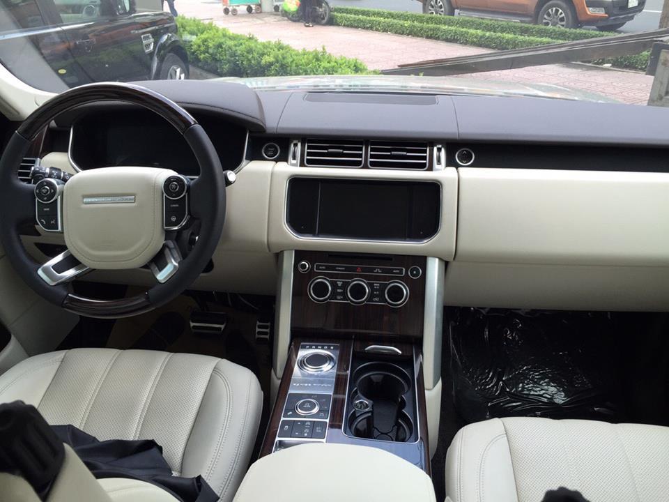 Nội thất xe Range Rover Vogue 01