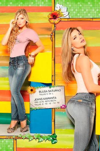 Angelica Jaramillo y Sofia Jaramillo Axxys Jeans Foto 11