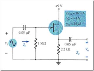 MCQs in FET Amplifiers Fig. 09