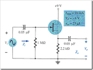 MCQs in FET Amplifiers Fig. 09