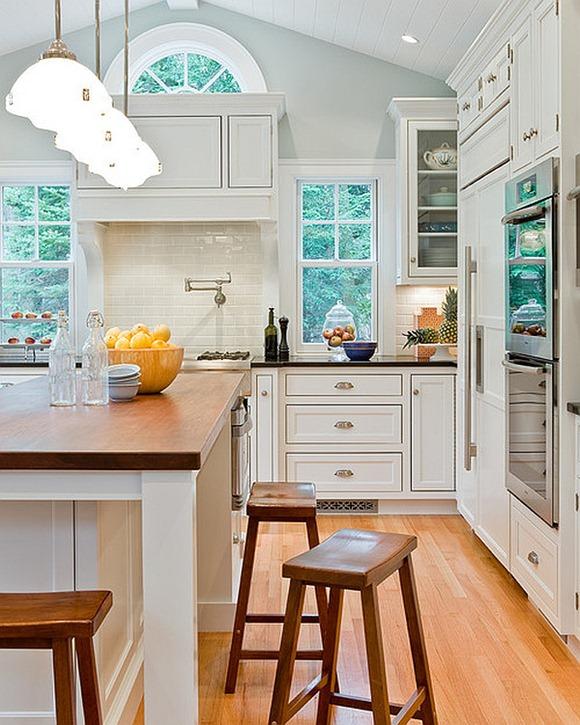 High Cabinet Kitchen: Muebles De Cocina: Ideas Para Elegir Los Gabinetes Y
