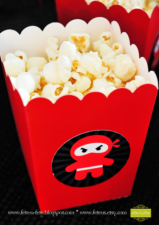 popcorn---Ninja-Party-by-Fete