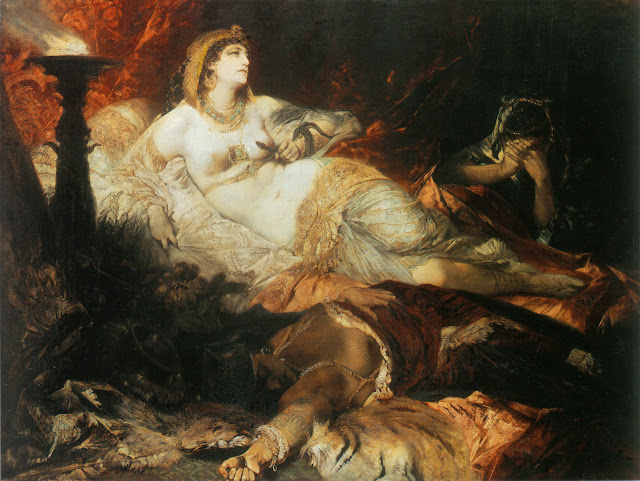 Hans Markat - La muerte de Cleopatra.jpg