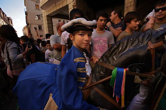 Els Cavallets. Festa major de Solsona. Solsona, Solsonès, Lleida