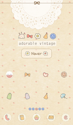 adorable vintage dodol theme