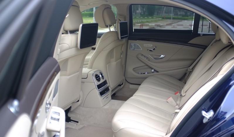 Nội thất xe Mercedes Benz S400 cũ 2015 02