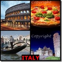 ITALY- 4 Pics 1 Word Answers 3 Letters