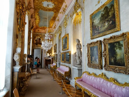 Obiective turistice Potsdam: Palatul Sanssouci - interior