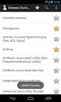 Screenshot of Diseases Dictionary