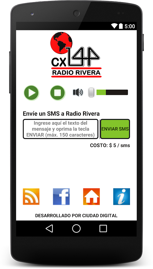 Radio Rivera- screenshot