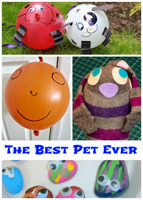 The Best Bet Ever Book and Making a Pretend Pet