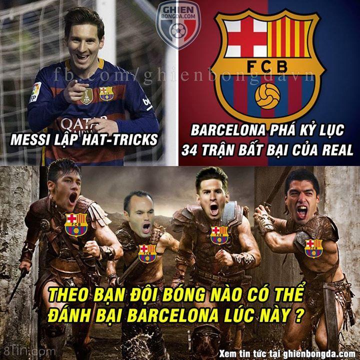 Đội bóng nào có thể đánh bại Barcelona lúc này đây @@?