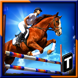 Horse Show Jump Simulator 3D file APK Free for PC, smart TV Download