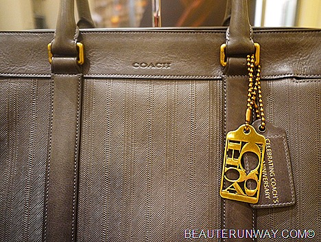 Coach 70th Anniversay Mens Bag