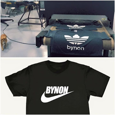 New BYNON shirts are in Who wants one