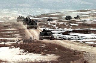 Xe tăng M1A2 Abrams nặng 70 tấn của Hoa Kỳ.