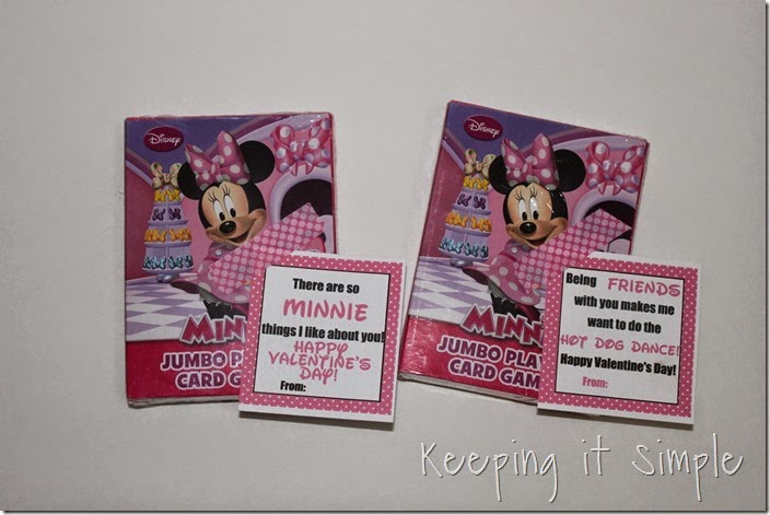 Easy No Candy Minnie Mouse Valentine with Printable (2)
