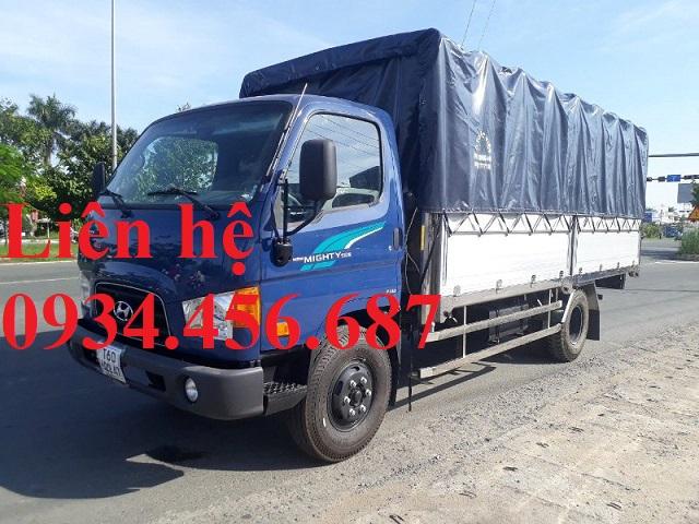 Đại lý bán xe tải 7 tấn Hyundai 110s thùng bạt