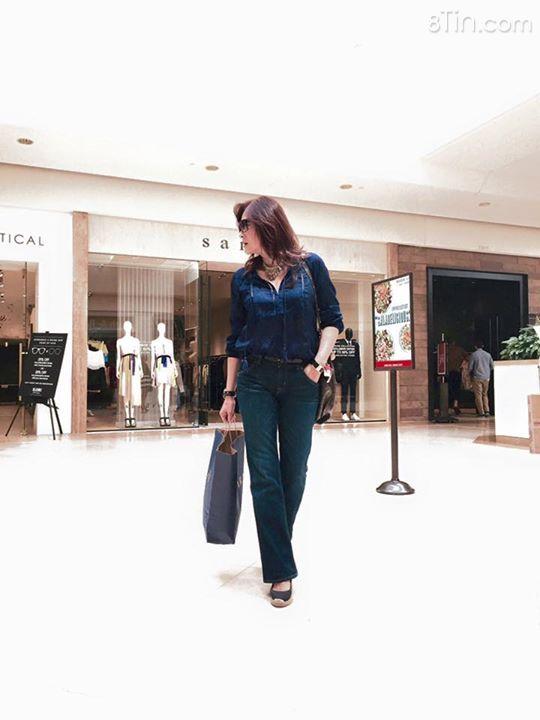 Lưu Bích đi shopping đầu năm 2016