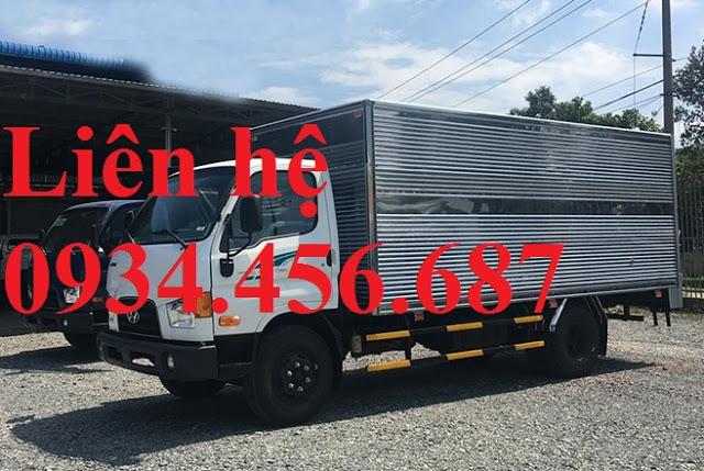 Xe tải Hyundai 110s 7 tấn thùng kín