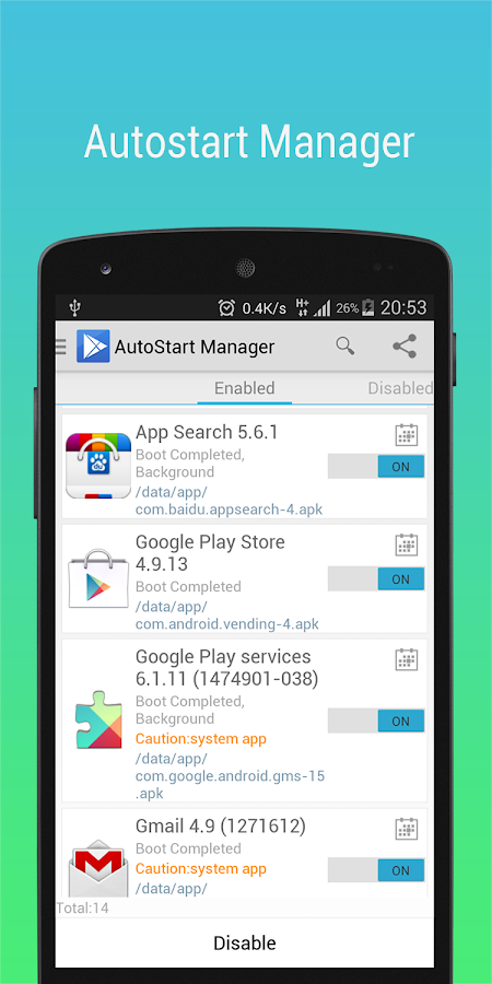 App Master(Uninstall Master) - screenshot