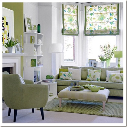 Fresh-Green-Living-Room