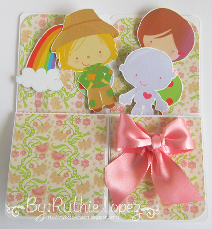 My Graphico - Over the Rainbow clip art - Wizard of Oz - Card in a box - Ruthie Lopez DT - Latinas Arts and Crafts 3
