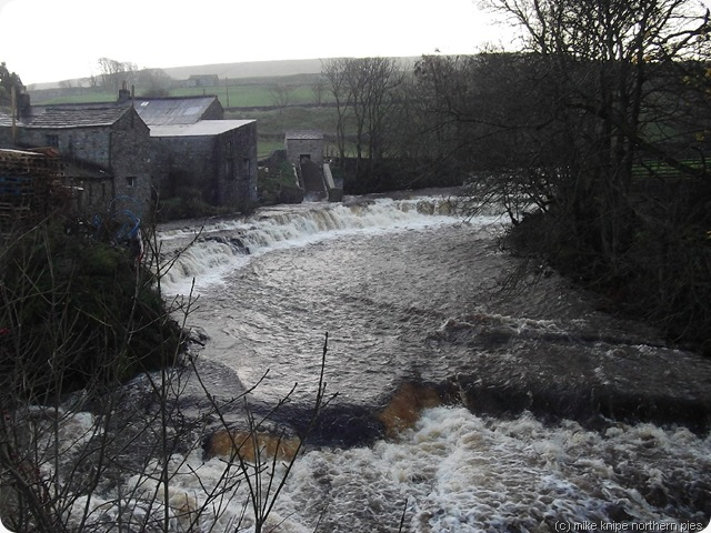 river bain with hydro screw