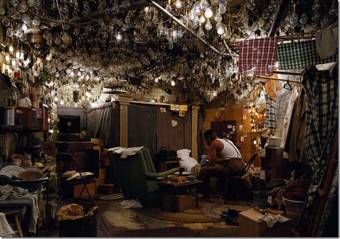 jeff wall_After _Invisible Man_by Ralph Ellison_the Prologue