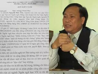 Đến nay vẫn chưa có kết luận về nghi vấn GS Nguyễn Đức Tồn đạo văn học trò.