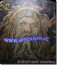 DSC09806.JPG Flodgud från Syrien mosaik kanske Romartid med amorism