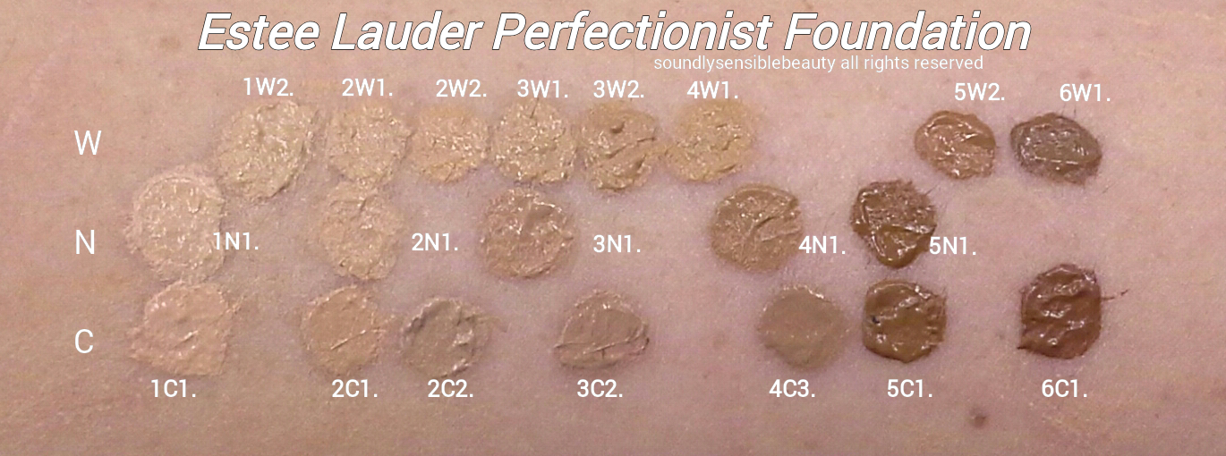 Estee Lauder Perfectionist Foundation Review Amp Swatches