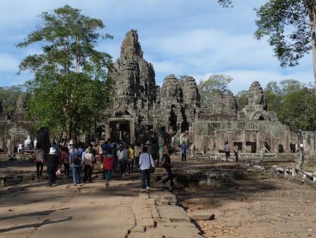 Obiective turistice Cambogia: Templul Bayon