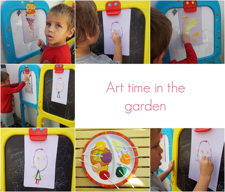art time in the garde