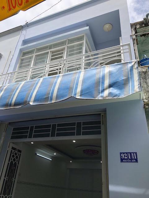 Bán nhà hẻm ô tô 2 sẹc Nguyễn Sơn Tân Phú 02