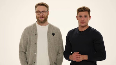 Stop what you're doing Seth Rogen and Zac Efron have got something to say